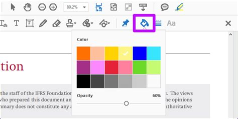 in color dc how to change highlight color in adobe acrobat reader dc