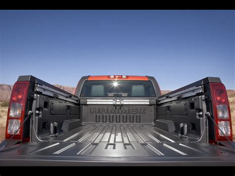 truck bed rail system 2009 hummer h3t alpha five foot truck bed with standard