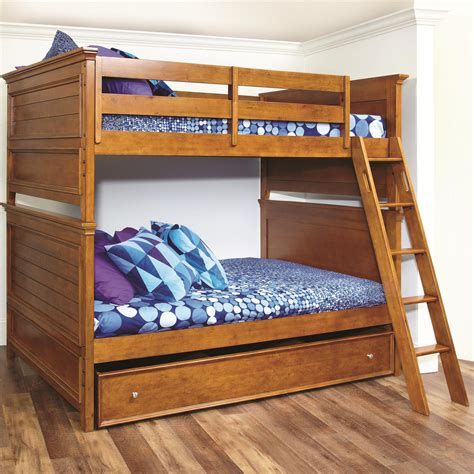 Furniture Astounding Wooden Trundle Bed Design Ideas Wooden Bunk Bed With Trundle