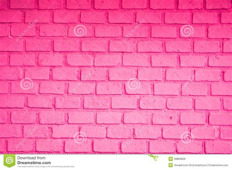 pink color of brick wall stock photo image 39866809