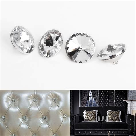 Diamante Upholstery Buttons by Rhinestone Diamante Buttons Headboard
