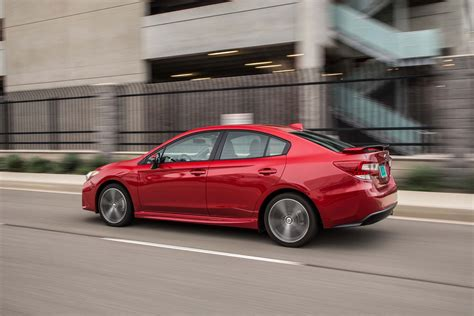 subaru impreza test 2017 subaru impreza sedan and hatchback test