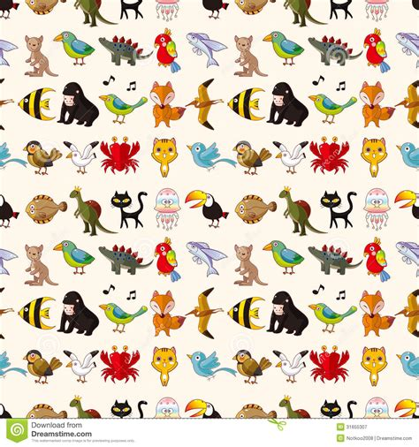 pattern animal vector seamless animal pattern stock vector image of black