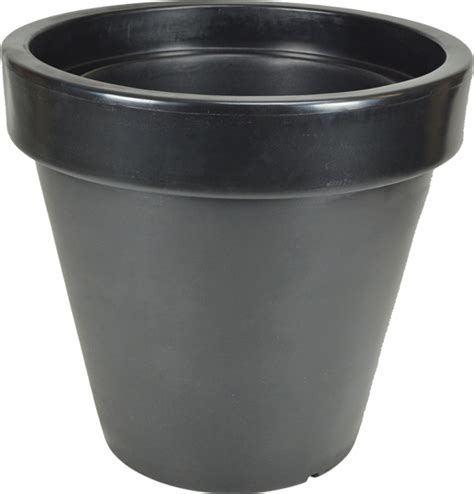 Classic Planters by The Classic Planter In Black