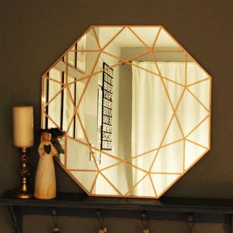 diy mirror projects diy gem mirror a gorgeous statement
