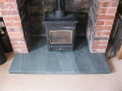 Fireplace Hearth Slab by Fireplaces And Hearths Saddleback Slate