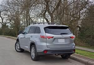 Toyota Highlander Road 2016 Toyota Highlander Xle Awd Road Test Review The Car