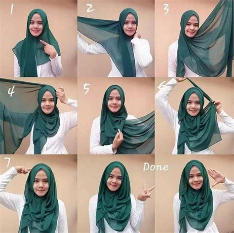 step by step pictorial tutorials of different style puff 80 best hijab style images on pinterest hijab styles