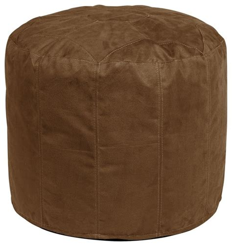 tall pouf ottoman microsuede tall pouf ottoman contemporary footstools