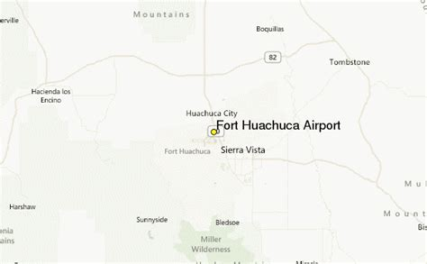 fort huachuca map fort huachuca az map pictures to pin on pinsdaddy