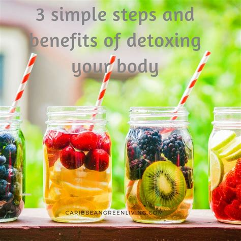 Detox Water Steps by 3 Simple Steps And Benefits Of Detoxing Your