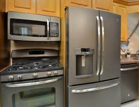 slate colored refrigerators slate finish is an alternative to stainless steel