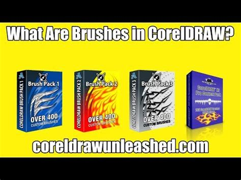 tutorial flat design coreldraw x7 what are brushes in coreldraw youtube