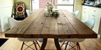 Reclaimed Wood Dining Table Diy Diy Reclaimed Wood Table The Aspirational