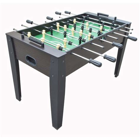 54 inch table hurricane 54 inch foosball soccer table in walnut