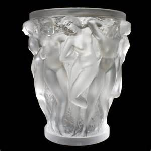 awesome lalique bacchantes glass vase 171 huubgeurts