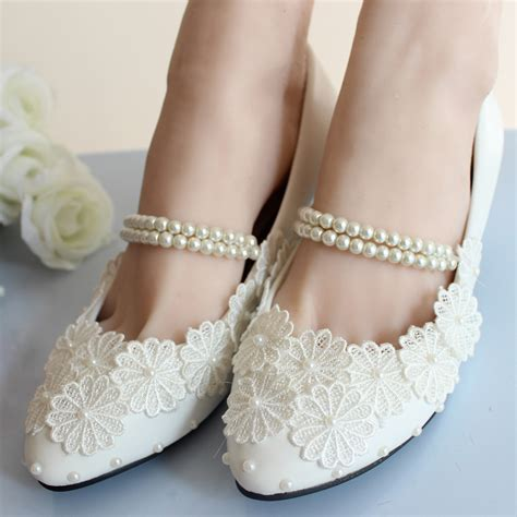 white lace ballet flat wedding shoes low heel white lace wedding shoes bridal moccasins