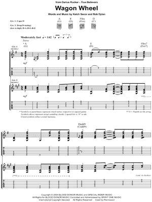 Darius Rucker Guitar Chords