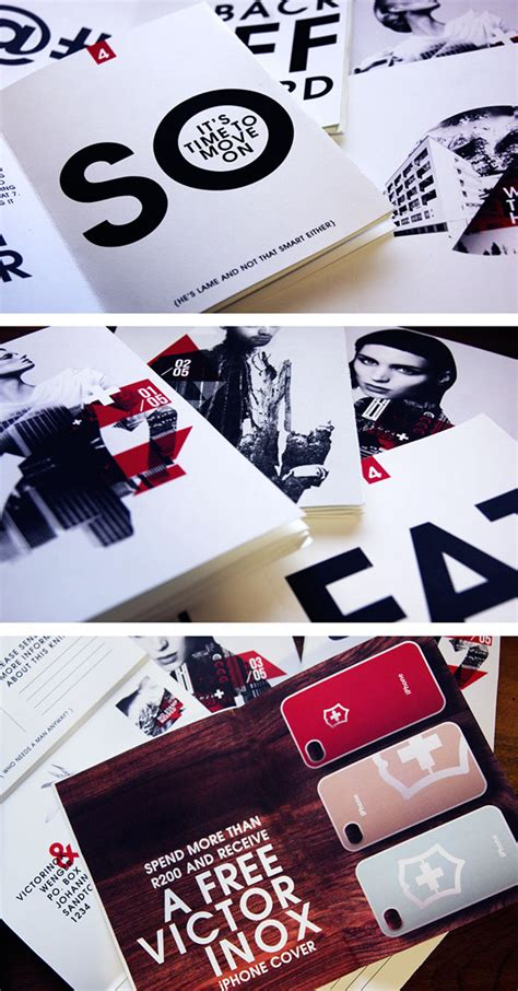 knife direct swiss army knife direct mailer on behance