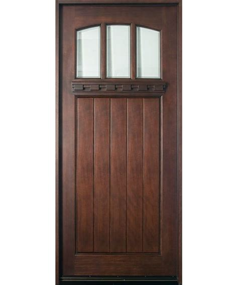 Front House Doors Exterior 17 Best Images About Fronts Doors On Traditional Craftsman Door And Mahogany