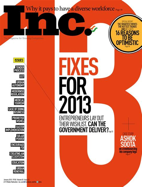 ambush mag volume 31 issue 18 2013 13 fixes for 2013 by inc india issuu