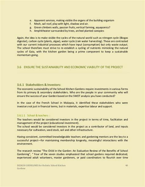 design guidelines for schools design guidelines for holistic school kitchen garden