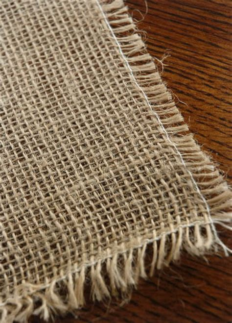 Burlap Square Tablecloth 54in