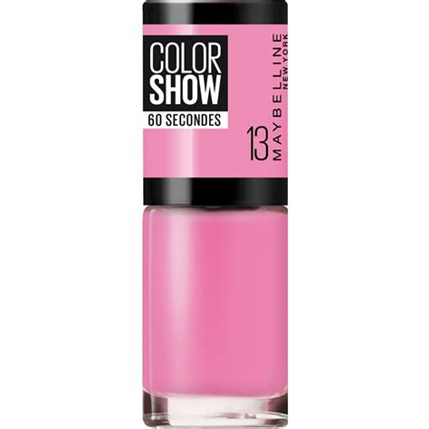 maybelline color show nail maybelline color show nail ny princess 13 7ml