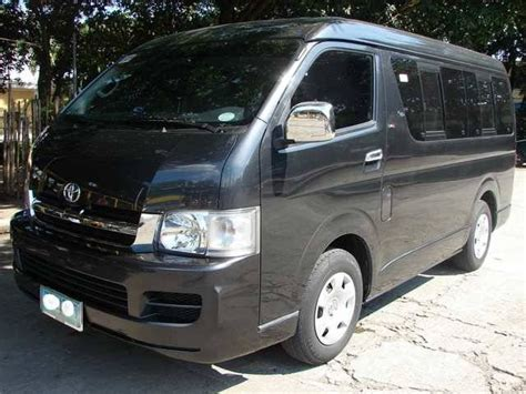Toyota Hiace Second For Sale Philippines 2006 Toyota Hiace Grandia Gl For Sale From Manila