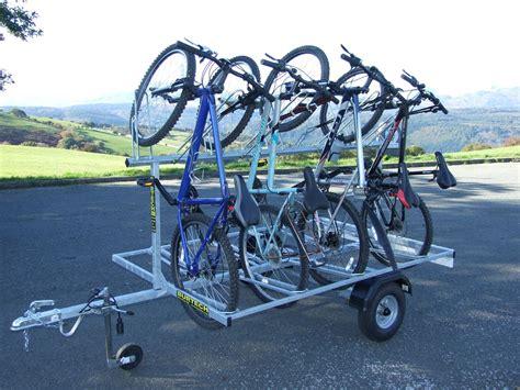 Bike Rack Trailer by Cub 8 Bike Trailer Mountain Bike Trailers And Canoe