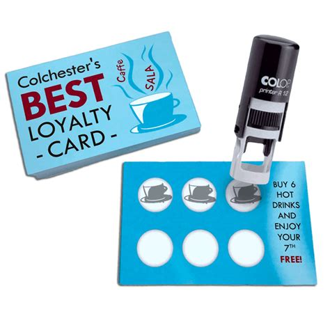 how to make a loyalty card loyalty cards print colchester