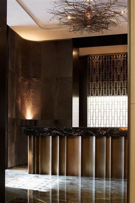 Reception Desks Toronto Reception Desk At Hazelton Hotel Toronto Www Yabupushelber Counter Height Pinterest
