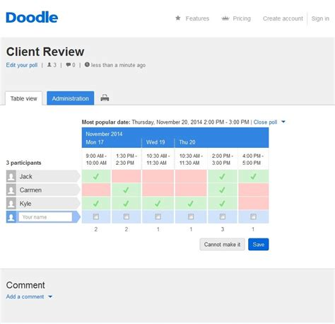 doodle poll request doodle hassle free scheduling e learning