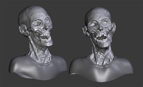 zombie blender tutorial model zombie blendernation