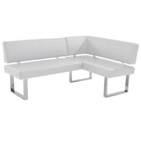 nook corner bench linden white corner nook bench el dorado furniture