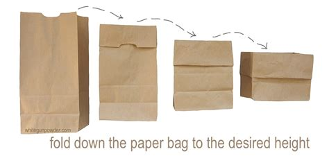 Fold Paper Bag - crafts archives page 6 of 7 white gunpowder