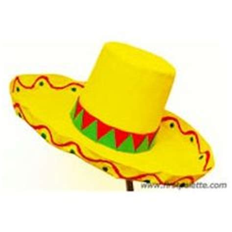 How To Make A Mexican Sombrero Out Of Paper - 1000 images about cinco de mayo crafts on