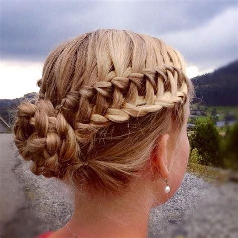 braided hair with 34 cool braided bun ideas