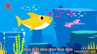 baby shark gif baby shark animal songs pinkfong songs for children on