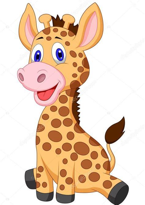 imagenes de jirafas caricaturas caricatura lindo beb 233 jirafa archivo im 225 genes