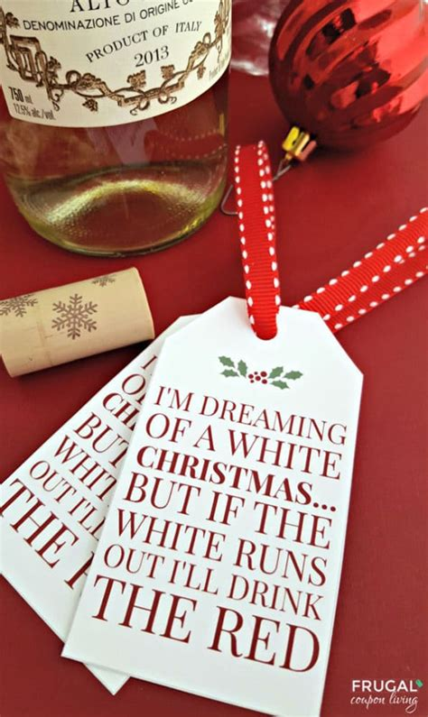 printable wine gift tags 20 free christmas printables pretty my party