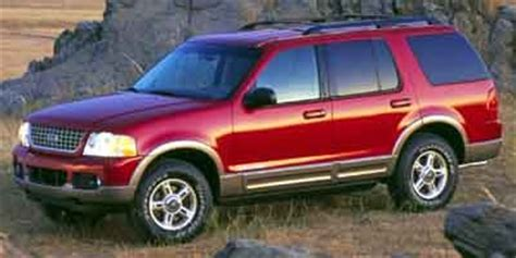 2002 ford explorer review, ratings, specs, prices, and