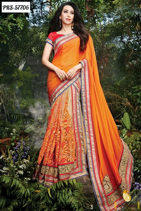 latest half sarees designs 2016 latest fashion trend georgette bollywood sarees for indian