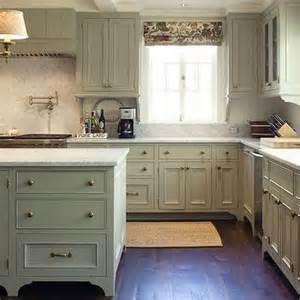 Green Grey Kitchen Cabinets Gray Green Kitchen Cabinets Cottage Kitchen Tammy Connor Interior Design