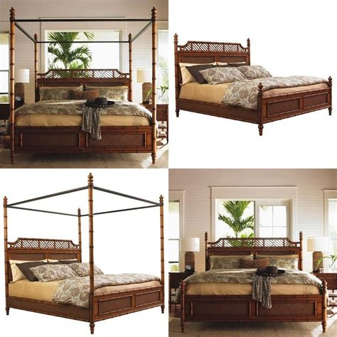 bahama bedroom furniture bahama home island estate west indies wood poster canopy bed 5 bedroom set 01 0531