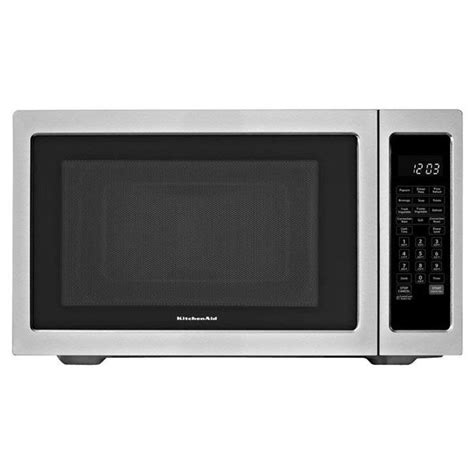 Kitchenaid Microwave Grill Kitchenaid 1200w Convection Microwave And Grill 1 5 Cu