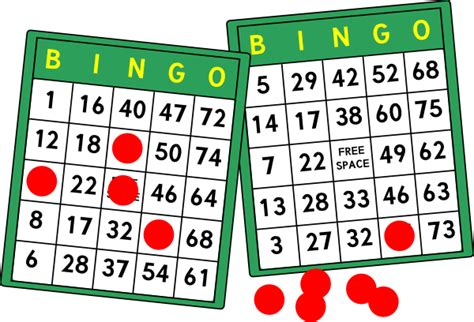 Bingo Card Template Png by Bingo Cards Clip At Clker Vector Clip