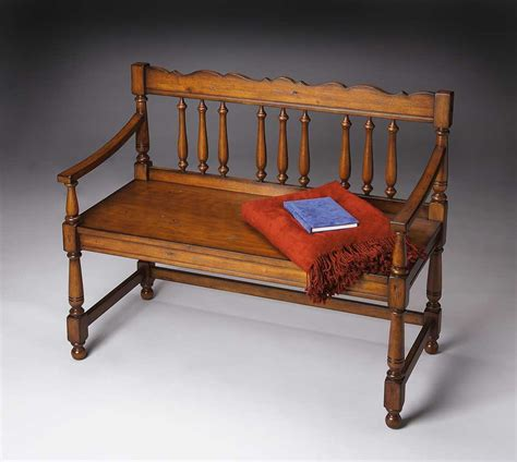 old world bench butler 5049102 old world cherry bench bt 5049102 at