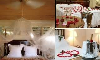 Bedroom decorating ideas for wedding night simple home decoration