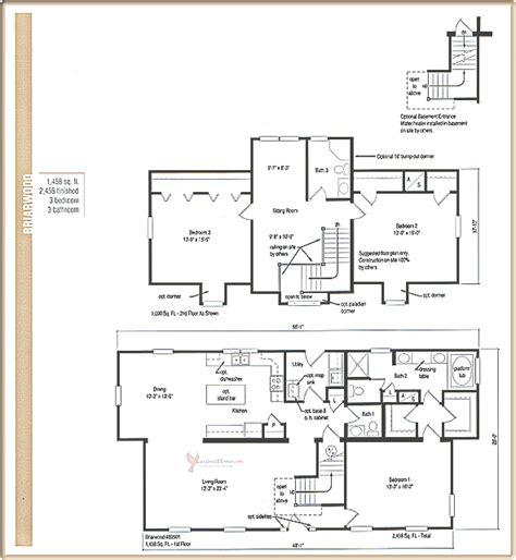 16 briarwood homes floor plans hutton farms